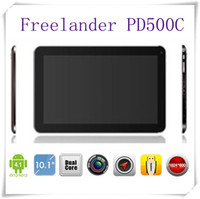 Wholesale Hot NEW Freelander PD500C Inch Tablet PC Dual Core GHz Action ATM7021A MB GB Dual Camera HDMI OTG pix tablets