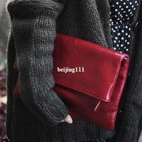 Clutch Bags Women Plain High Quality Elegant Trend Star women bags High Quality Famous Designer Brands Wine red Handbags Day Clutches Envelope Bag