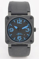 automatic watch movement for sale - Hot Sale Automatic Movement Luxury Mechanical Black Rubber Wristwatches Swiss Brand Square Date Stainless Mens Watch For Men Man Low Prices