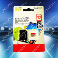 Wholesale Android robot Class GB Class Micro SD card microSDXC microSDHC G Micro SDXC microSD micro SDHC UHS UHS I U1 Card Adapter