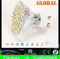 Corn big leds - Retail GU10 E27 E14 MR16 LED Light Glass Warm White white LEDs SMD W LM LED Spot Light Bulb Lamp V V Big discout