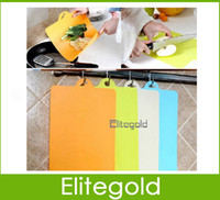 Wholesale Lightweight Clean Bendable Chopping Board Food Categories Kitchen Supplies Rice white orange green blue DHL