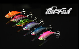 Wholesale VIB LR of Fishing lures squid jigs jigs for salt and fresh water Freeshipping