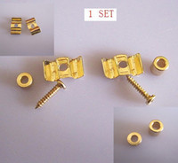 Wholesale 10set Guitar String Tree Guide Retainer Screws Gold plated New