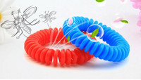 Wholesale New Arrive Mosquito Repellent Spring Bracelets Anti Mosquito Pure Natural Baby Wristband Hand Ring
