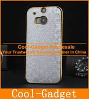 Wholesale Luxury Football Gold Chrome Electroplate Hard Case Protective Cover for HTC One One2 M8 M8 Mini M8C12