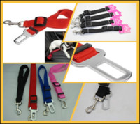 Wholesale 100Pcs Adjustable Car Vehicle Safety Seatbelt Seat Belt Harness Lead Cat Dog Pet P13