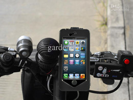 Wholesale 2013 Bike Bicycle Mount Holder StandTough Case Waterproof Cover drit proof for Appel iphone