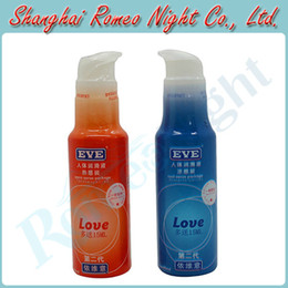Wholesale EVE Cool amp Hot Sense Body Massager Lubricant Oil Love Sex Toys Cream Lubricants Audlt Products
