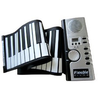 Wholesale Soft Roll Up Electronic Flexible Piano Keyboard Keys Foldable Soft Portable Electric Digital