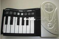 Wholesale Keys Soft Roll Up Electronic Flexible Piano Keyboard Foldable Portable