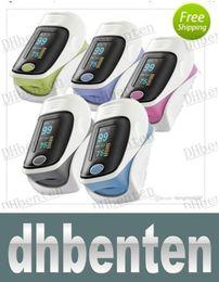 Wholesale WZH151 Hot sale Fingertip Pulse Oximeter OLED Screen Colors for Choice Bood Oxygen SPO2 PR Oximetro Monitor