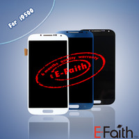 Wholesale For Samsung Galaxy S4 i9500 i337 M919 Touch LCD Screen Digitizer Replacement Free DHL shipping