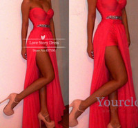 The Most Popular Prom Dresses Sexy Sweetheart Neckline Rhine...