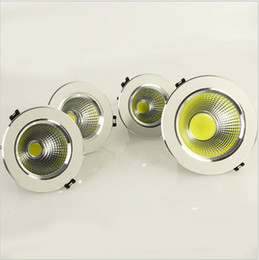 High Power 5W 7W 9W 12W COB LED Dimmable downlight COB led down light free shipping