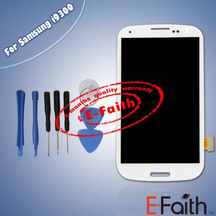 Buy White LCD Samsung Galaxy S3 i9300 Screen Display Touch Digitizer Assembly Replacement parts & tools