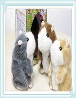 talking toy - 5pcs cute talking hamster talking animal talking toys three color in stock hot sale