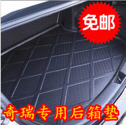 2pcs Qq chery fengyun e5 amulet a3 car after a car box pad stereo waterproof trunk mat auto car parts repair Accessories care