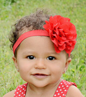 cloth beautiful baby accessories - Baby Toddler Hair Flower Headbands Children s Hair Accessories Girls Elastic Hairbands Hand Sewing Beautiful Headwear Colors