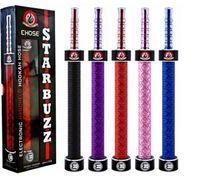Single Multi Metal E Hose Huge Vapor E Hookah 2200mAh E Hose Kit Starbuzz Rechargeable Electronic Cigarette