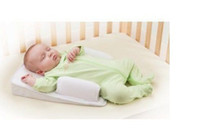 Wholesale Brand sassy baby is safe and comfortable sleeping pad pillow crib bed pillow shape anti stand up Tunai pillow