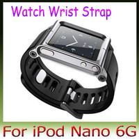 Wrist Strap iPod Nano 6g For iPod Nano Yes LunaTik LYNK all metal Aluminum Watch Band Wrist Strap for iPod Nano 6g 1psc Free Shipping