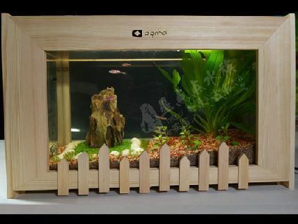 mini fish tank brief solid wood small fish tank home office desk aquarium turtle cylinder corner aquariums custom acrylic aquariums from yxzsz028 office desk aquarium