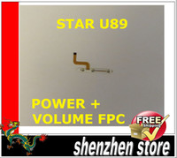 Wholesale STAR ULEFONE U89 New Original Button power on off flex cable FPC component parts for repair