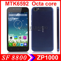 Zopo 5.0 Android new arrial ZOPO ZP1000 5.0 Inch Ultrathin IPS HD MTK6592 Octa Core Android smart Cell Phone 1GB RAM 16GB ROM 14.0MP 3G GPS OTG Android 4.2