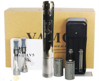 Wholesale E Cigar Vamo V5 starter ego kit with LCD Display Variable Voltage Battery X1 ml CE4 Atomizer Clearomizer Electronic Cigarette