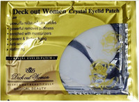 Wholesale 25Pack Deck Out Women Crystal Eyelid Patch Anti Wrinkle Crystal Collagen Eye Mask Remove Black Eye Post