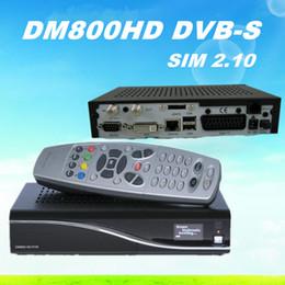 Wholesale DM800 hd Pro Alps Tuner REV M New D11 Version BL84 DM800hd Digital Satellite Receiver DM HD SIM2 card Newdvb hd Pro