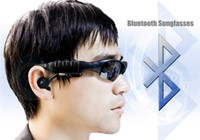 Wholesale 2014 new Bluetooth glasses with Wireless Bluetooth Headset headphone earbuds Sunglasses for all Bluetooth Mobile Cell Phone
