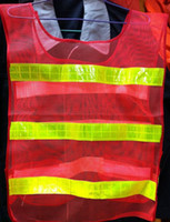 Wholesale Reflective Safety Clothing Reflective Safety Vest Coat Sanitation Vest Traffic Safety Warning Clothing Vest