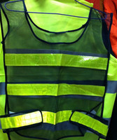 Wholesale Reflective Safety Vest Coat Sanitation Vest Traffic Vest Reflective Safety Clothing Reflective Vest Jacket High Visibility Vests Jacket