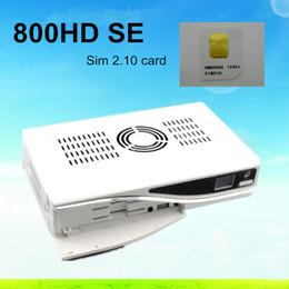 Wholesale DM800se DM hd se se hd BL84 M tuner SIM set top box for dm se dm800 se satellite receiver