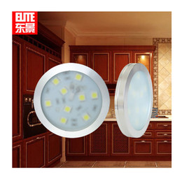 12V 3W 9 SMD LED Panel Cupboard Cabinet Drawer Light Bulb Pure Warm White Lamp