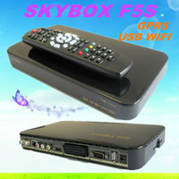 Receivers skybox f5 - 5pcs Original Skybox F5 skybox F5s P Full HD Dual Core CPU Satellite Receiver Similar To Skybox F3 Skybox F4