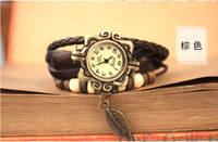 Wholesale Han edition men watch female south Korean fashion student couples to female table table lady belt high school students