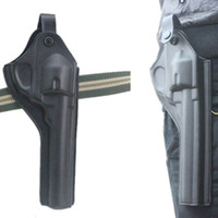 Wholesale revolver holster black waist right