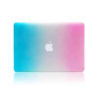 Apple apple laptop - Rainbow shell Case for Apple Laptop Hard Cover For notebook Air
