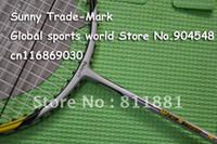 Wholesale 2 pec Lining II Badminton Racket badminton racquet