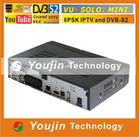 PVRs DVB-S yes Newest VU solo 2 mini Vu+ solo2 Vu Plus solo 2 mini vu solo2 twin tuner Linux reciever wifi IPTV enigma2 free shipping