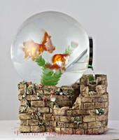 Wholesale Creative decorative aquarium fish tank aquarium turtle mini aquarium fish tank
