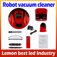 Wholesale Robot Vacuum Cleaner In Multifunction Auto Sweep Vacuum Mop Sterilize With LCD Touch Screen Virtual Wall and Self Charge