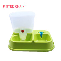 Dogs Feeding & Watering Supplies  Pinter automatic feeder dog cat automatic pet feeder automatic water automatic bowl