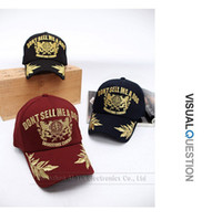 Wholesale Korean version Gold embroidery baseball caps Men and women fashion peaked cap sun helmet AW009