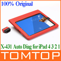 Wholesale 2014 New Launch X431 iDiag Auto Diag Car Scan Scanner for IPAD Iphone X intelligent Diagnostic Tools Update on line