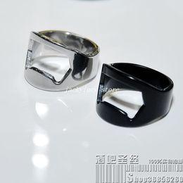 10 pcs Brand New Stainless Steel Finger Ring Bottle Opener Bar Beer tool + Free Shipping