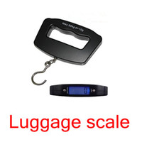 Pocket Scale <50g Yes Free shipping 50Kg 10g LCD Digital Hanging Luggage Weight Hook Scale